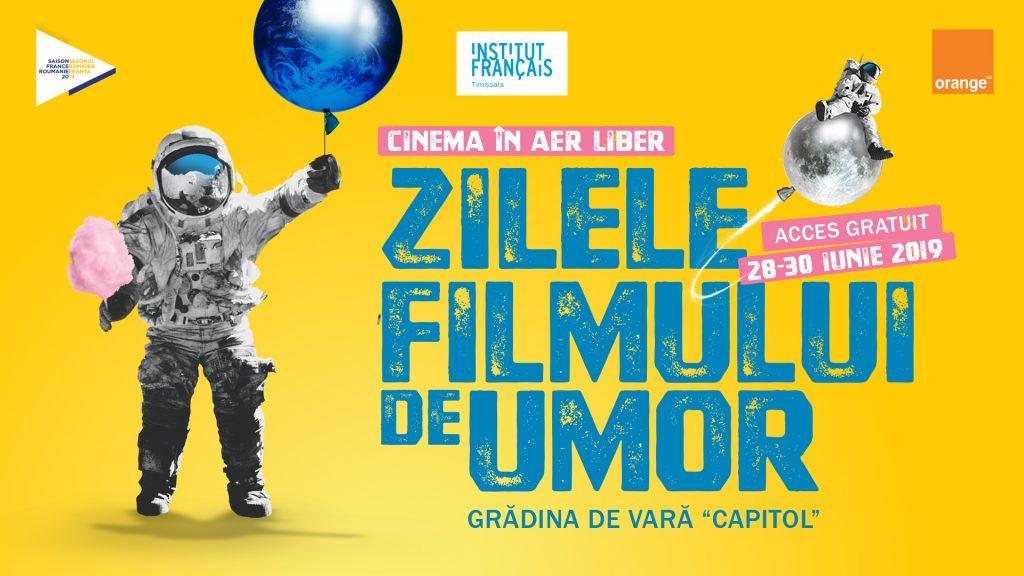 """Cinema în aer liber și comedii franțuzești la """"Zilele Filmului de Umor"""""""