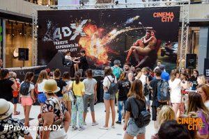 Ai curaj să accepți provocarea 4DX? Cinema City aduce provocarea 4DX și în Timișoara