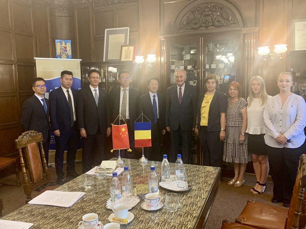 Vizita la CCIA Timiș a delegației Guvernului Provinciei Yunnan