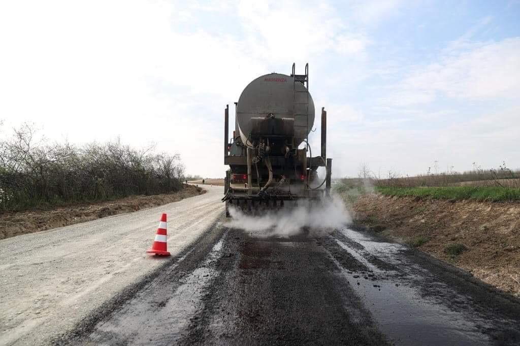 Lucrări de asfaltare pe tronsonul A1 – Giarmata, pe sensul de mers spre Timișoara