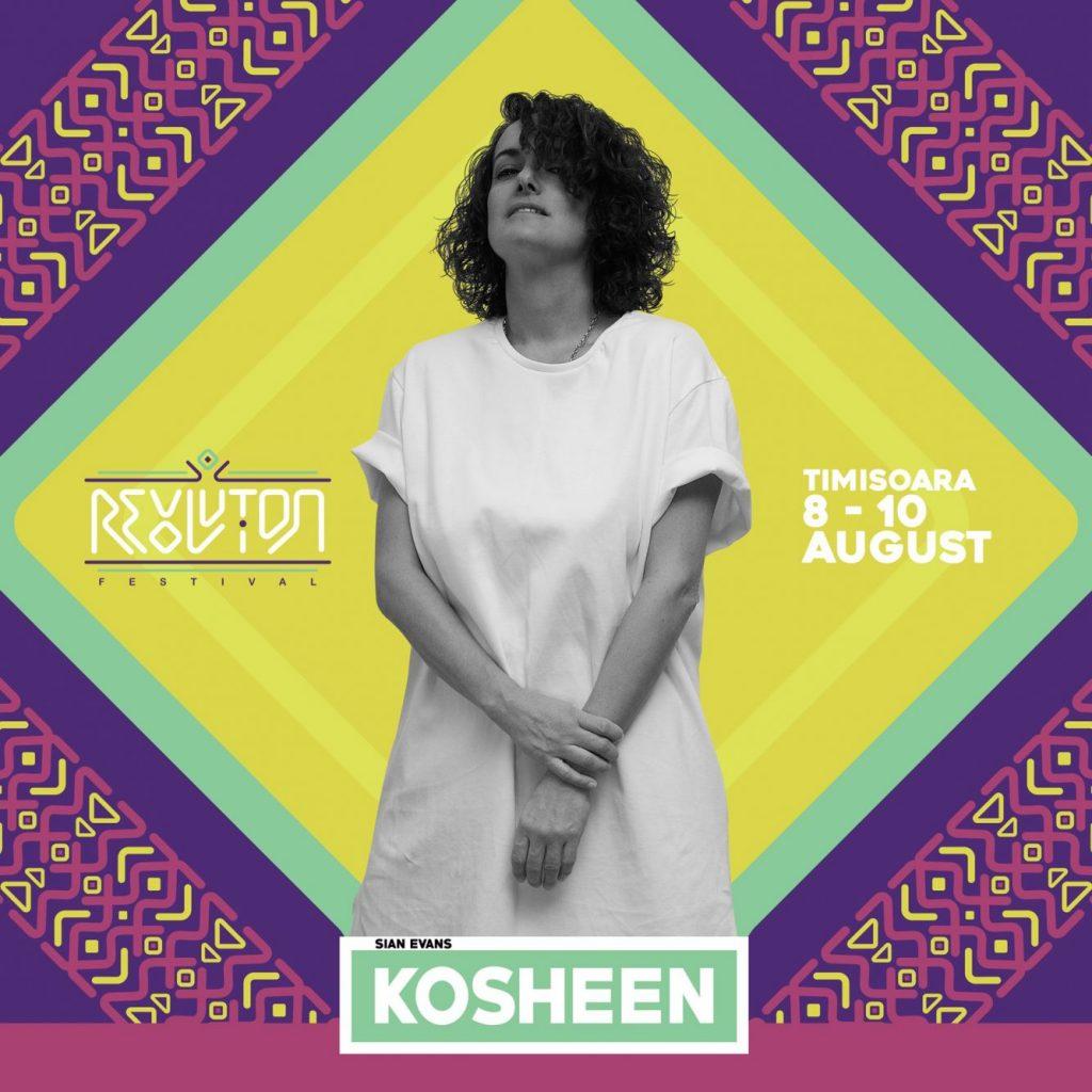 Kosheen vine la a cincea ediție a A R:EVOL:UTION FESTIVAL