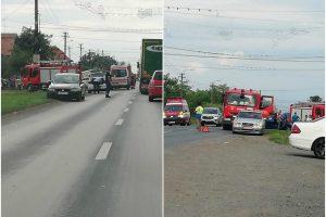Doi oameni la spital în urma unui accident în Timiș