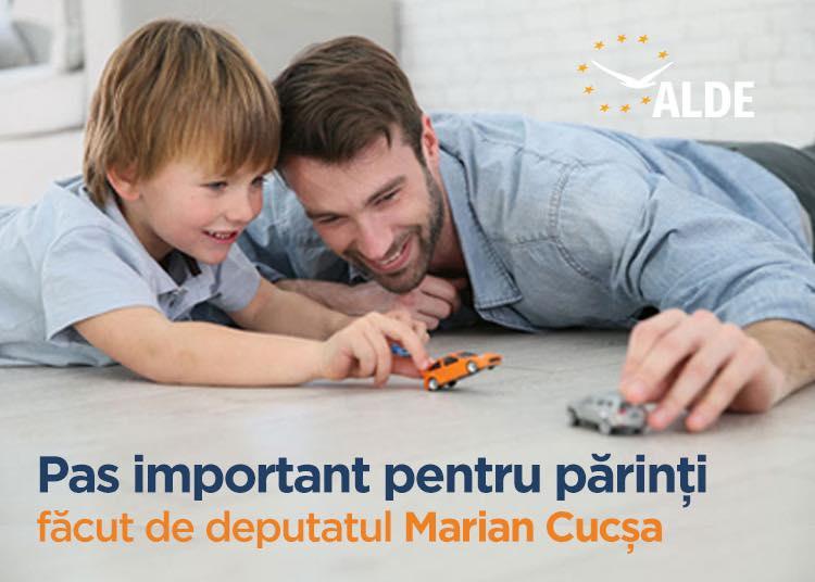 Deputat ALDE, Marian Cucșa: Senatul a adoptat proiectul ALDE privind zilele libere de la job în cazul în care sunt închise școlile