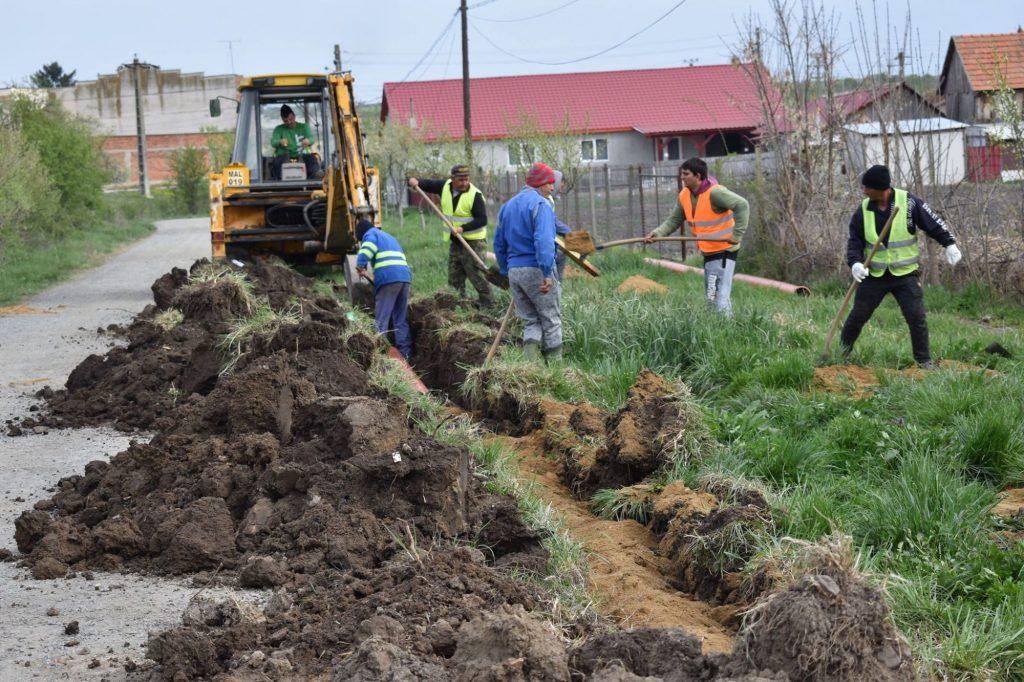 Primăria comunei Giroc anunţă începerea lucrărilor la coloana de aducțiune