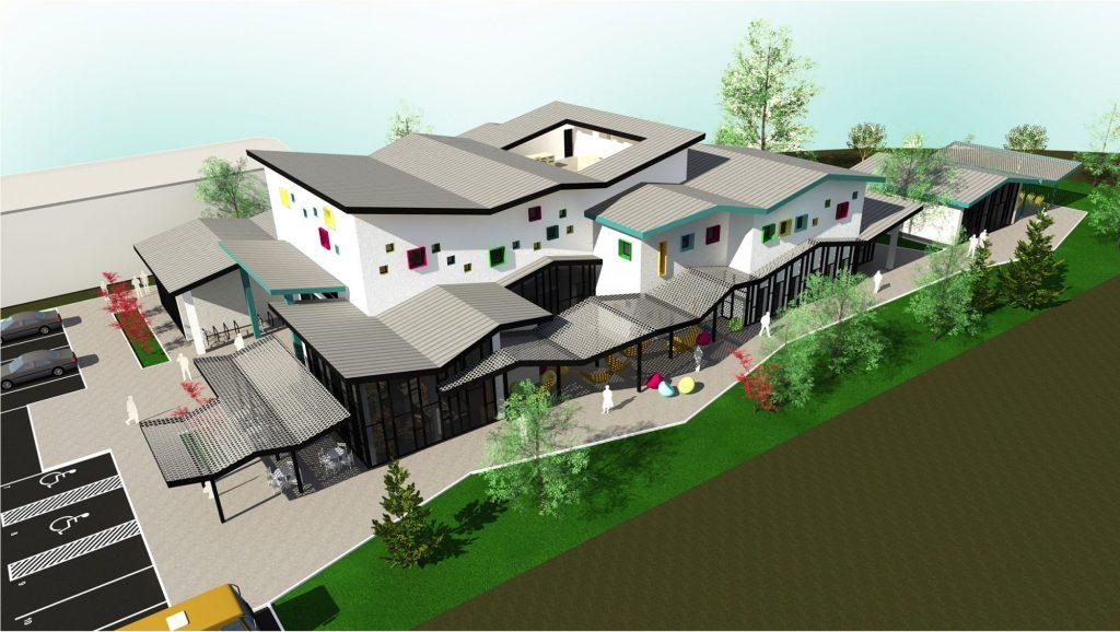 CJT construiește un centru comunitar de învățare permanentă