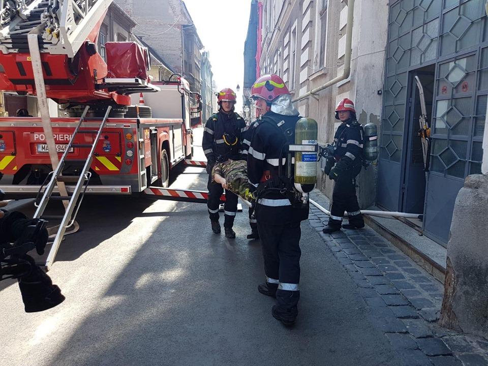 Pompierii timişeni au avut peste 1.500 de misiuni în noiembrie
