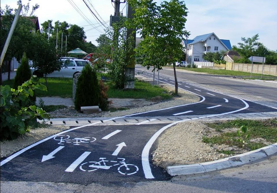 Piste de biciclete de la Șandra până la Timișoara