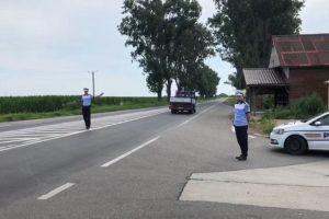 Controale pe șoselele din vestul țării
