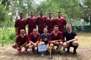 Polițiștii locali au câștigat Cupa 24 Iulie la fotbal, organizată cu ocazia Zilei Poliției de Frontieră