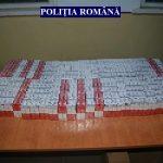 Autoturism plin cu ţigări de contrabandă