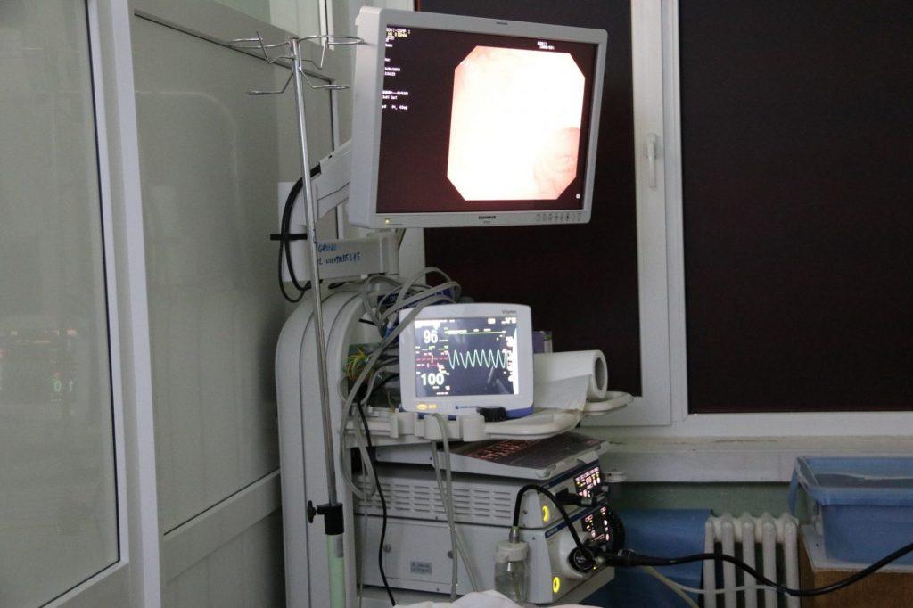 Aparatură nouă pentru Secția Gastroenterologie a Spitalului Judeţean Arad
