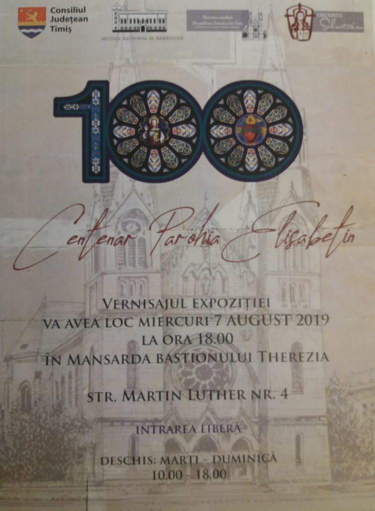Centenarul Parohiei Elisabetin, în expoziţie