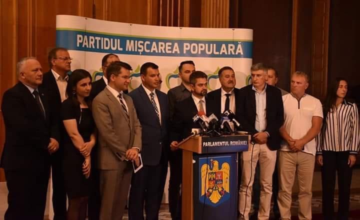 """PMP susține candidatura Președintelui """"educator"""" pentru România"""