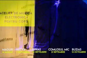 Expoziții de artă contemporană, workshopuri de muzică electronică pentru copii și un show de lasere la Recaș