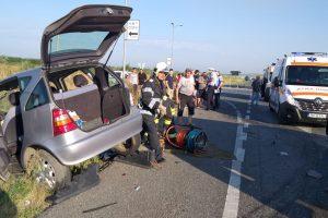 Grav accident pe centura Lugojului