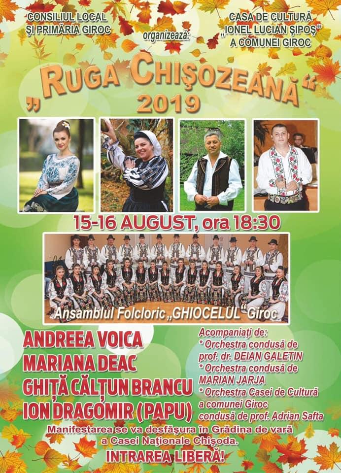 Două zile de petrecere la Chișoda