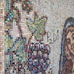 Peste 50.000 de piese de mozaic îmbracă pasajul pietonal de la Gara Mare