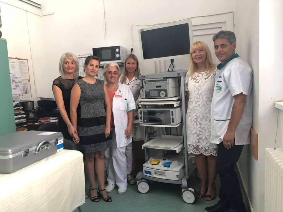 Aparatură medicală performantă de 300.000 de euro la Spitalul Municipal din Timişoara