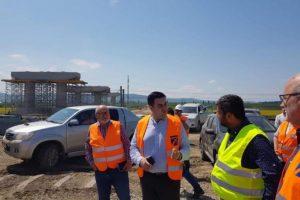 Ultimatum pentru constructorul lotului 3 al autostrăzii Lugoj-Deva