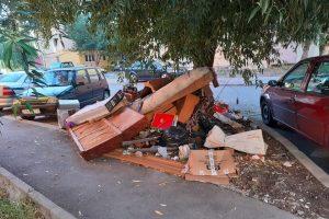 Amenzi drastice pentru cei care au fost surprinşi abandonând deșeuri pe străzi