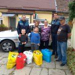 Gest de mare omenie făcut de poliţiştii timişeni pentru trei copii bătuţi de soartă