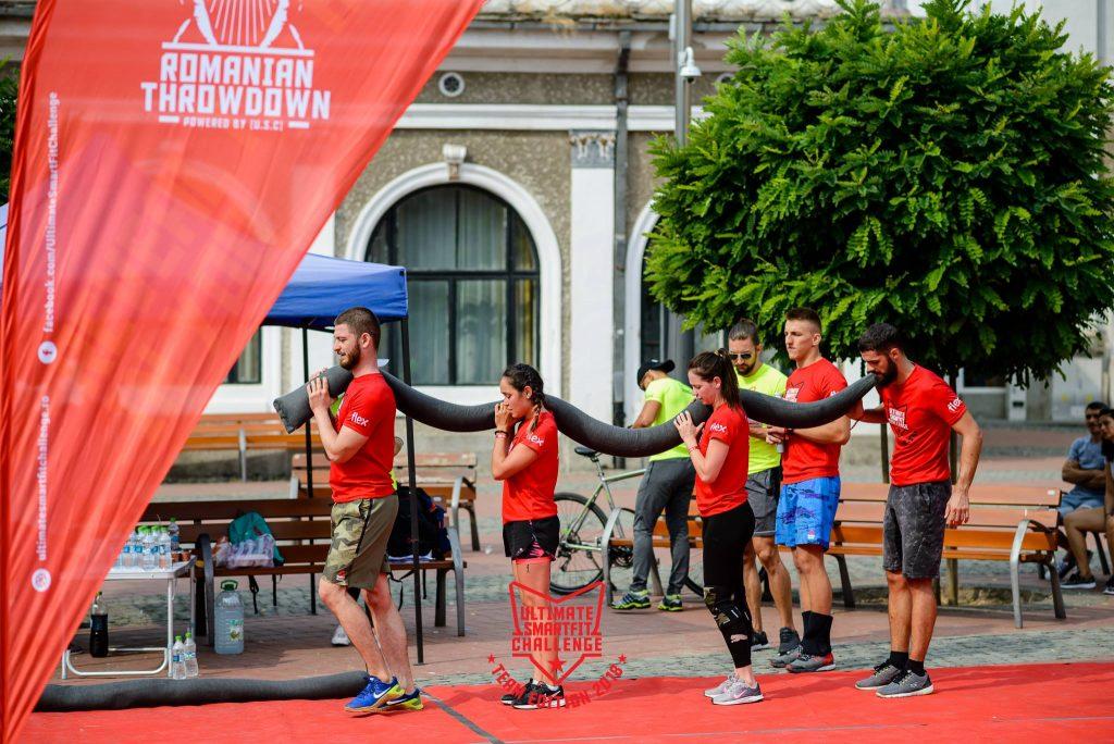 Spectacol sportiv la Timişoara cu Brigada Antitero