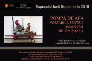 Exponatul lunii septembrie la Muzeul Banatului: Pompă de apă mobilă