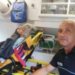 Arădeancă salvată din fântână de un polițist