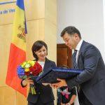 Foto. Premierul Maia Sandu, la deschiderea anului la UVT