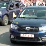 Maşina folosită de Papa Francisc în România ajunge la Timişoara