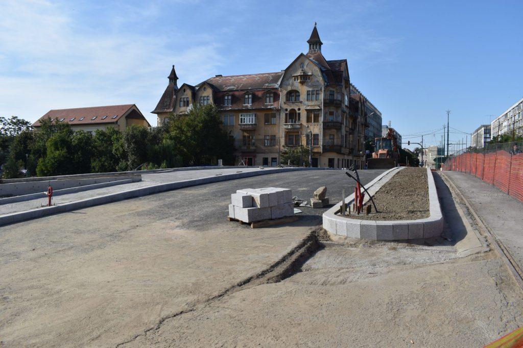 Luni se deschide circulația la Podul Dragalina