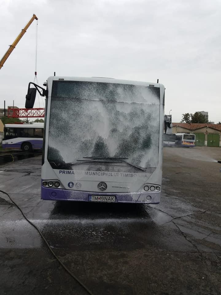 Două spălătorii ecologice pentru autobuze vor fi achiziționate de STPT