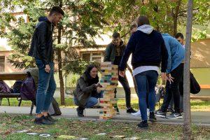 Welcome Week a început pe Aleea Studenților