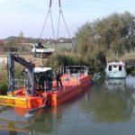 Barajul stăvilar de la Sânmihaiu Român are echipamentele în probe de lucru