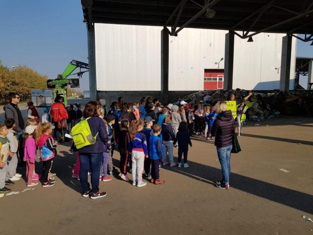 ADID, actiune de educație ecologica pentru copii la Deponeul Ghizela
