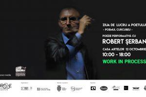 Poetul Robert Șerban creează sâmbătă un curcubeu în versuri la Casa Artelor