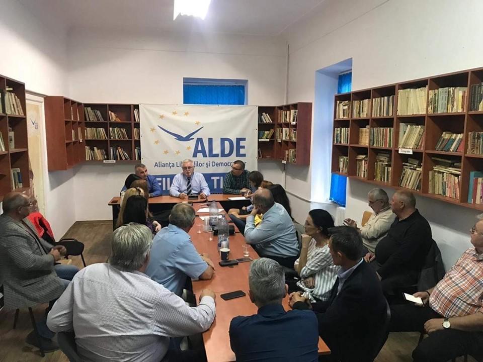 Anton Anton, preşedinte interimar al ALDE Timiş. Când vine Mircea Diaconu la Timişoara