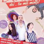 Aurelian Temișan și Monica Davidescu revin la Timișoara cu un nou spectacol