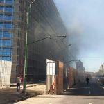 Pompierii au fost chemaţi să stingă un incendiu la ISHO