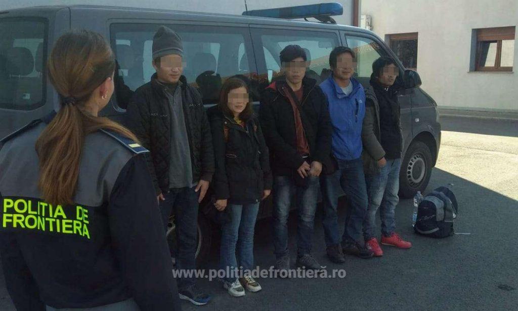 Cinci vietnamezi, depistaţi în Timiş când încercau să treacă fraudulos frontiera în Ungaria