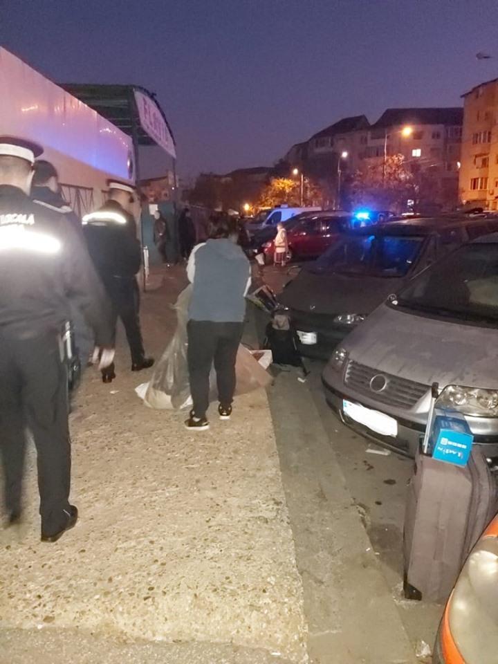 Razie fulger a polițiștilor locali în zona Pieței Flavia