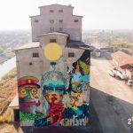 Cea mai mare pictură murală din ţară a fost creată la Timișoara