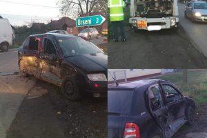 Trei oameni au ajuns la spital, în urma unui accident