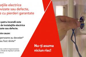 Instalaţiile electrice improvizate sau defecte, loterie cu pierderi garantate!