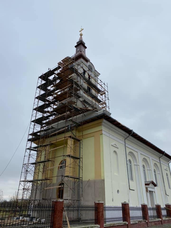 Biserica din Cerneteaz a intrat în renovare