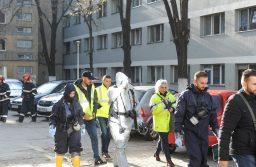 Substanţa folosită la deratizare în blocul de pe strada Mioriţei, cumpărată de pe piaţa neagră