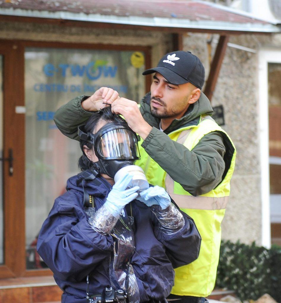 Armata va decontamina blocul de pe Mioriţei. 40 de locatari sunt încă internaţi în spitale