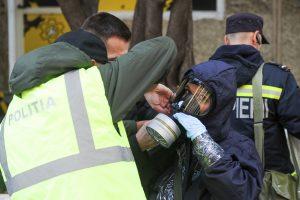 Locatarii unui bloc din Timișoara evacuați din case, în urma unui apel la 112