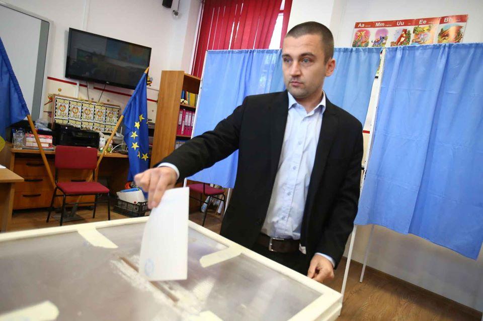 Cristian Moș intră în cursa internă USR pentru funcția de președinte al CJT