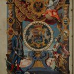 Diploma de ridicare a Timişoarei la rangul de oraş cezaro-crăiesc, în colecţia Muzeului Banatului
